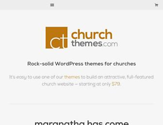 churchthemes.com screenshot