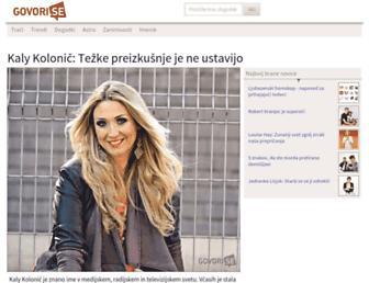 govori.se screenshot