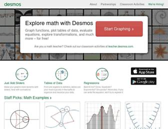 desmos.com screenshot