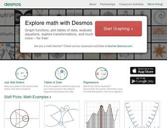 Thumbshot of Desmos.com