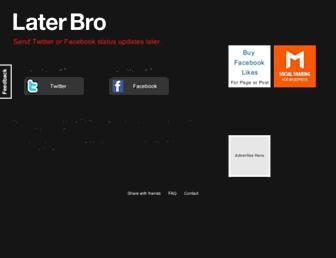 Thumbshot of Laterbro.com