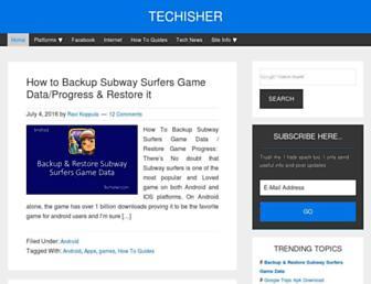 techisher.com screenshot