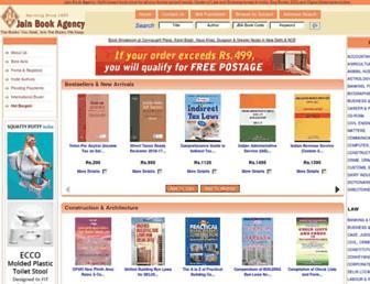 jainbookagency.com screenshot