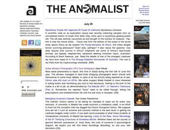 Thumbshot of Anomalist.com