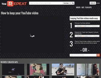 yourepeat.com screenshot