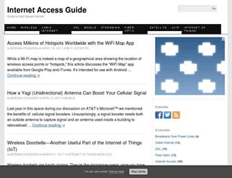 internet-access-guide.com screenshot