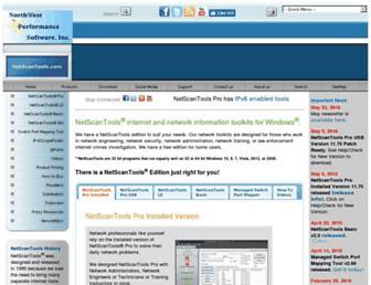 netscantools.com screenshot