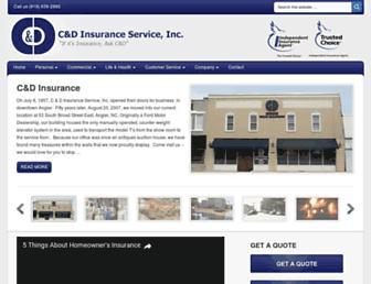 canddinsurance.com screenshot