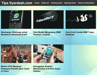 syardash.com screenshot