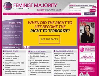 Thumbshot of Feminist.org