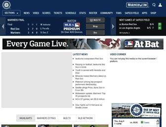 seattle.mariners.mlb.com screenshot