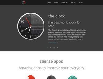seense.com screenshot