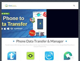 phonetransfer.org screenshot