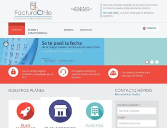 facturachile.cl screenshot