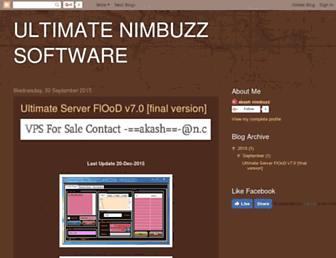 ultimate-nimbuzz.blogspot.com screenshot