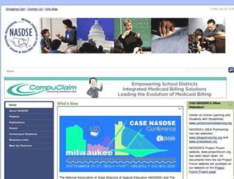 nasdse.org screenshot