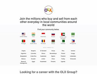 losangeles.olx.com screenshot