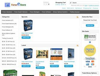 forexestore.com screenshot