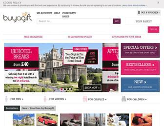 buyagift.co.uk screenshot