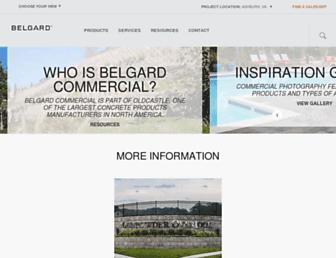 belgardcommercial.com screenshot