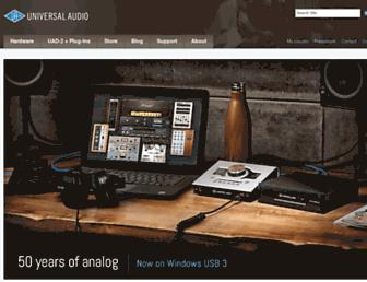 Thumbshot of Uaudio.com