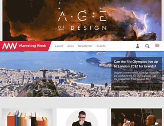marketingweek.com screenshot