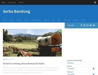 serbabandung.com screenshot