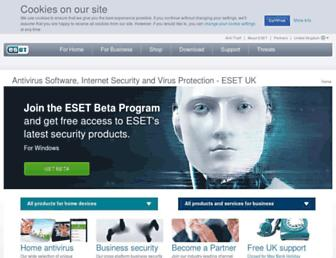 Thumbshot of Eset.co.uk