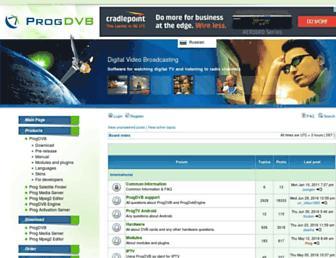 forum2.progdvb.com screenshot
