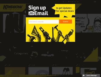 krisbow.com screenshot