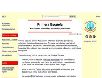 primeraescuela.com screenshot