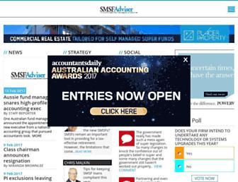 smsfadviser.com screenshot