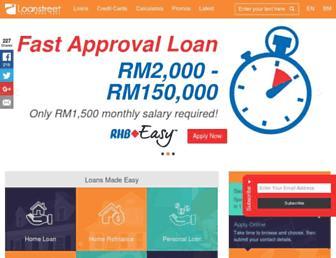 loanstreet.com.my screenshot