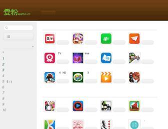 Main page screenshot of appfun.cn