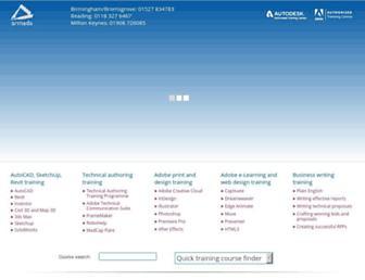 armada.co.uk screenshot