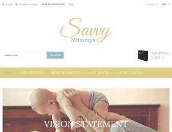Thumbshot of Savvymummys.co.uk