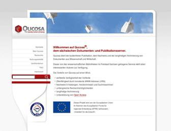 qucosa.de screenshot