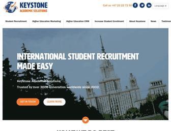 keystoneacademic.com screenshot