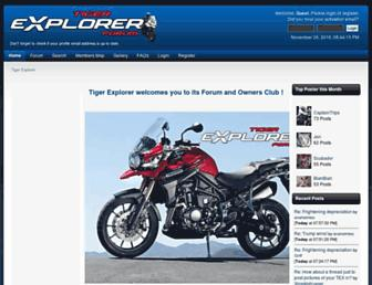 tiger-explorer.com screenshot