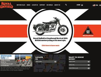 Thumbshot of Royalenfield.com