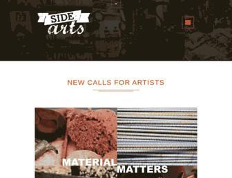 sidearts.com screenshot