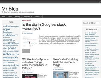 mrblog.org screenshot