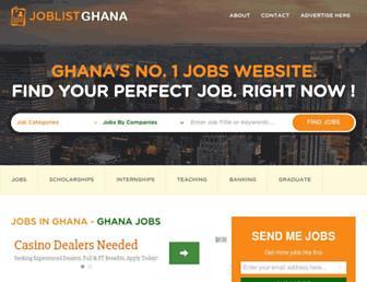 Thumbshot of Joblistghana.com