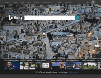Thumbshot of Bing.com
