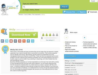 winzip.en.downloadastro.com screenshot