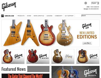 Thumbshot of Gibson.com