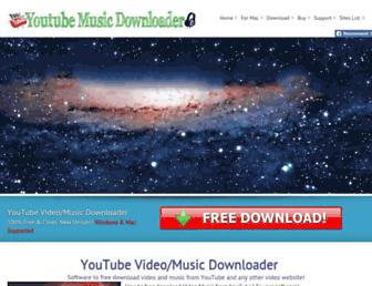Thumbshot of Youtubemusicdownloader.us