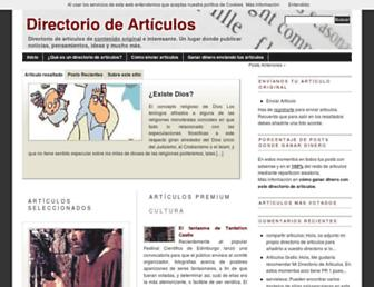 directorio-articulos.com screenshot
