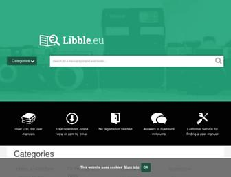 libble.eu screenshot