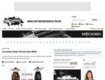 desichords.com screenshot